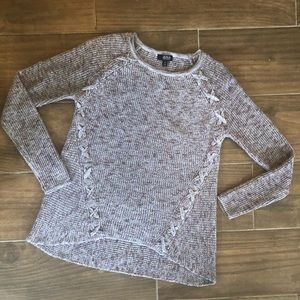 a.n.a high low knit sweater Size Medium